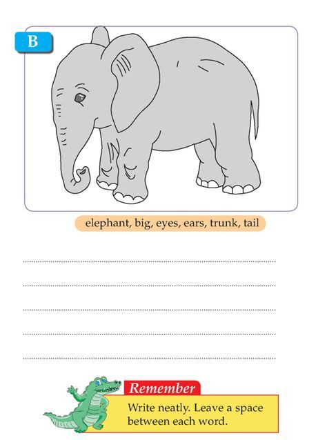Writing skill - grade 1 - picture composition (6 ...