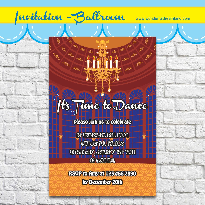 Dance Party Invitation - PDF JPG Instant Download Printable Digital ...