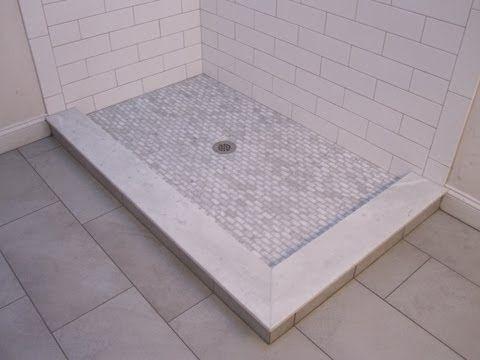 ▷ Large Subway Ceramic Tile Bathroom  Youtube  Bath Remodel Delectable Youtube Bathroom Remodel Design Decoration
