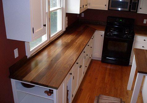 Standard Plank Wood Countertops Wood Countertops Kitchen Wood