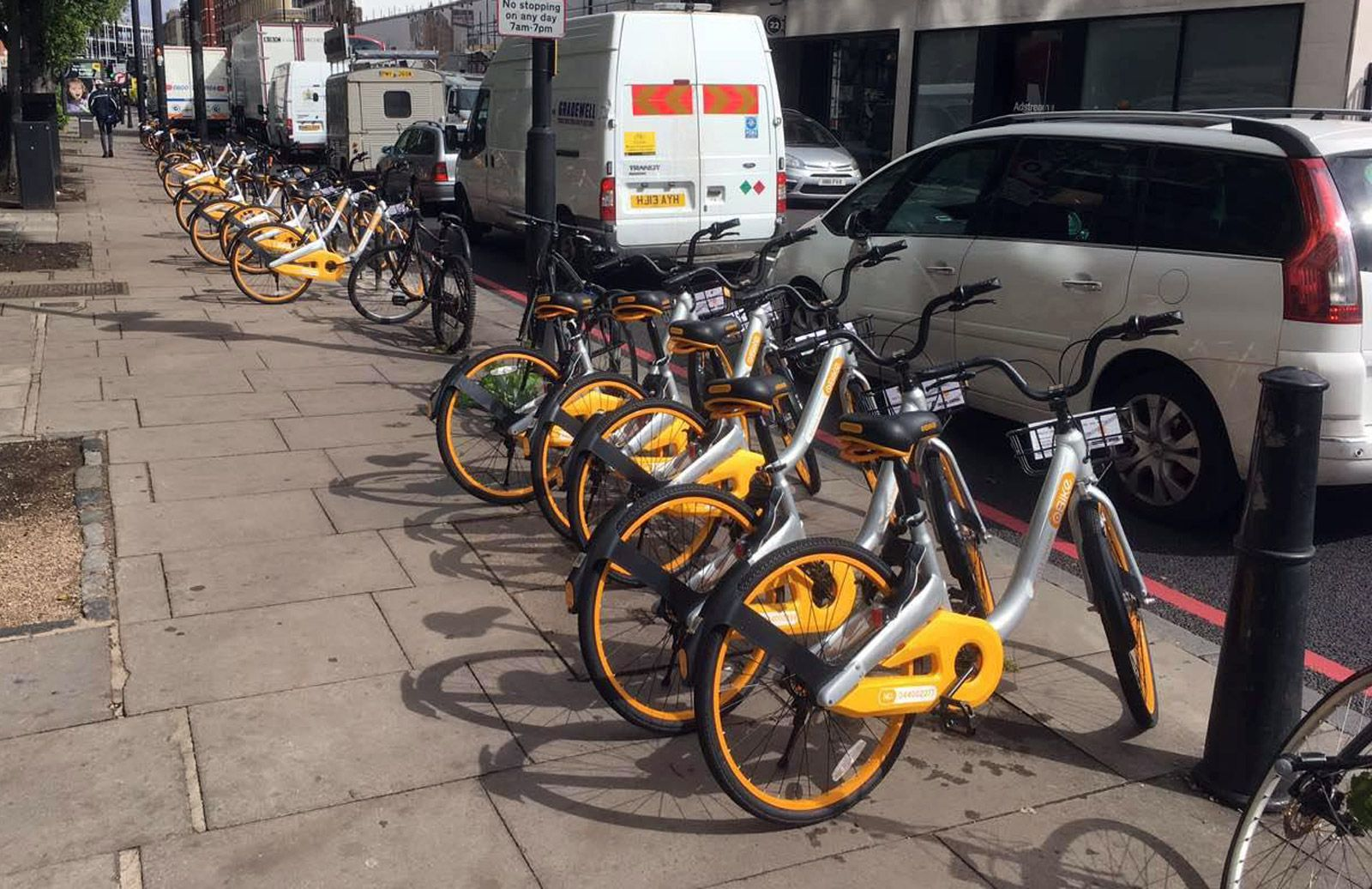 oBike arrives in London with its dockless take on Boris