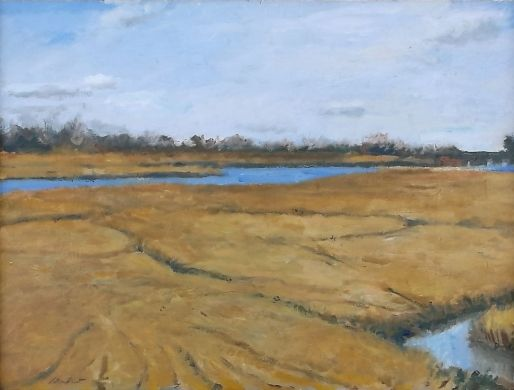 Merrick Marsh by Jonathan Van Brunt, Painting - Oil | Zatista