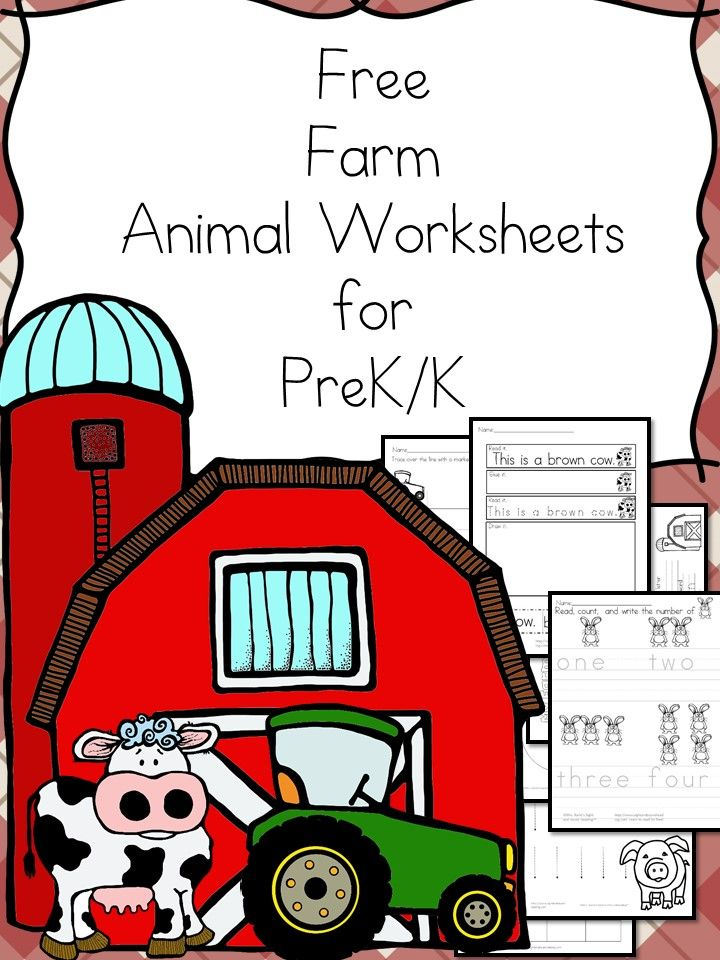 Witty image in free printable farm animal cutouts