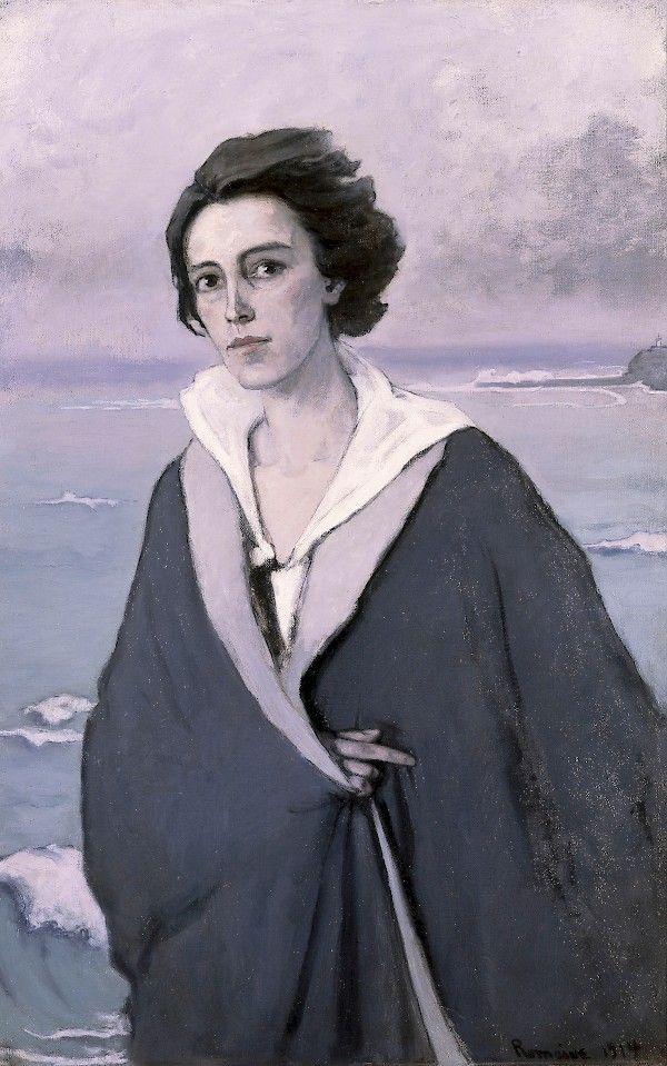 At The Seaside —Self-portrait    - Romaine Brooks