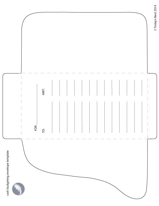 money envelope template free download - Goalgoodwinmetals
