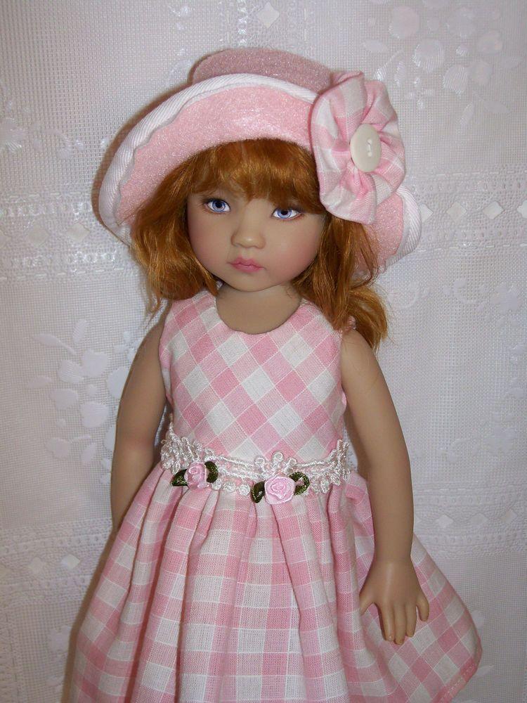 """Sun Dress 2 Set For Effner 13"""" Little Darling Doll"""