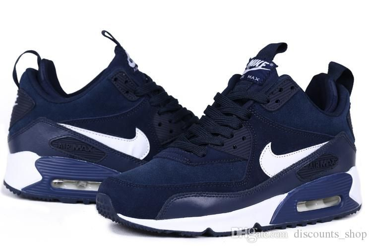 buy online 1d170 bf76e 2016 New Nike Air Max 90 Deep Blue Sneakerboot Size 36 45 Shoes For Women  Dansko Shoes From Discounts shop,  102.73  Dhgate.Com