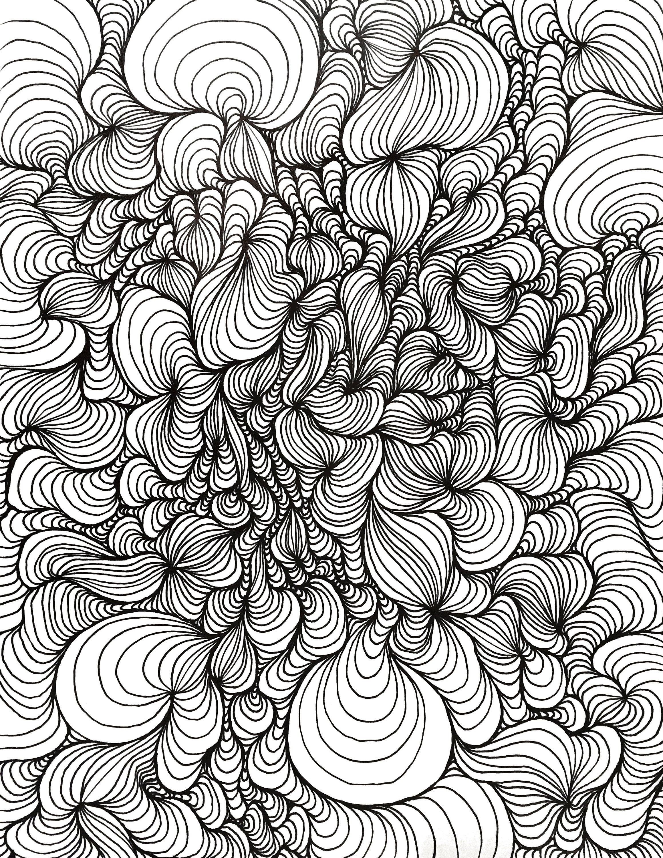 Op Art Coloring Page Op Art Coloring Pages Art