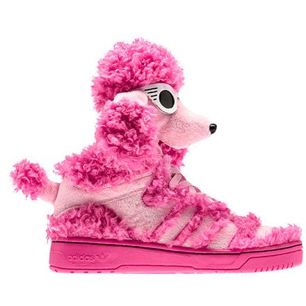 Would i actually wear these all the time... probably... adidas Mens Jeremy Scott Poodle Shoes | adidas Australia