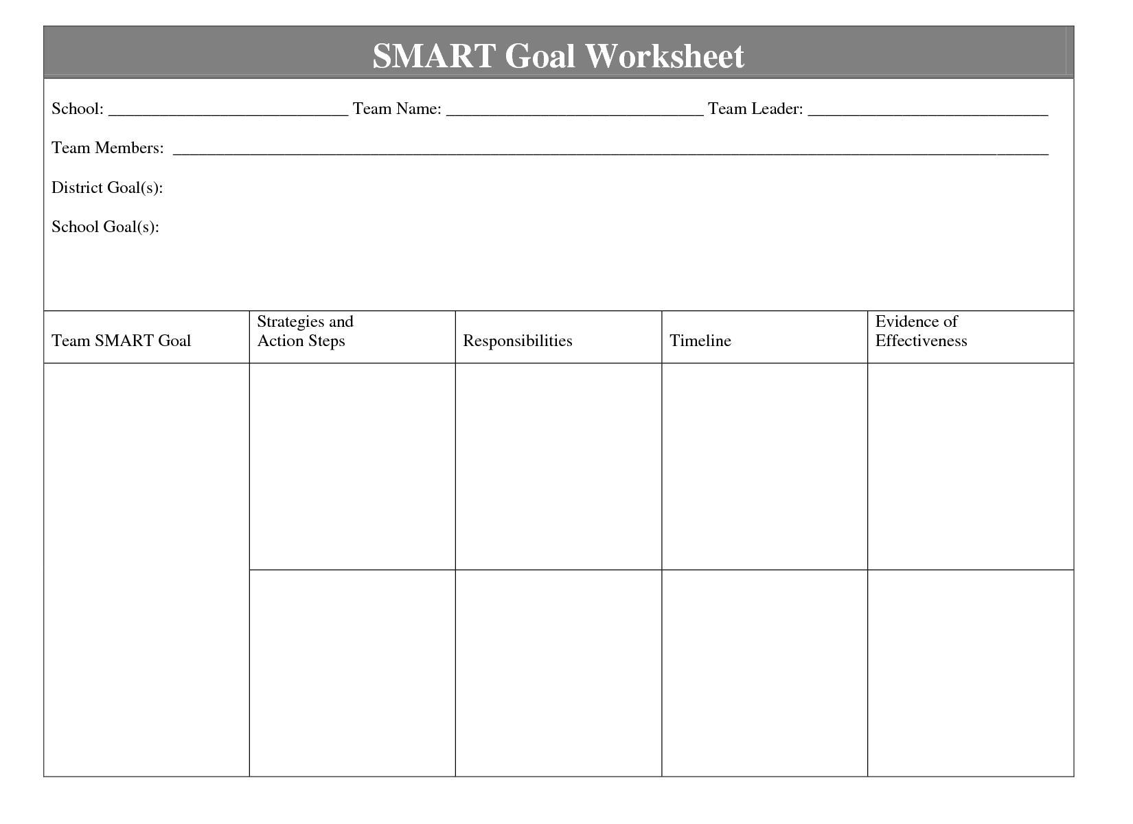 worksheet Smart Goals Worksheet For Students when it comes time to define the goals and objectives of your cop inform minority students about field public health smar