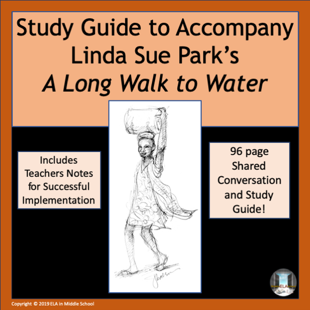 """A Long Walk to Water"" Novel Study Guide in 2020 (With images)"
