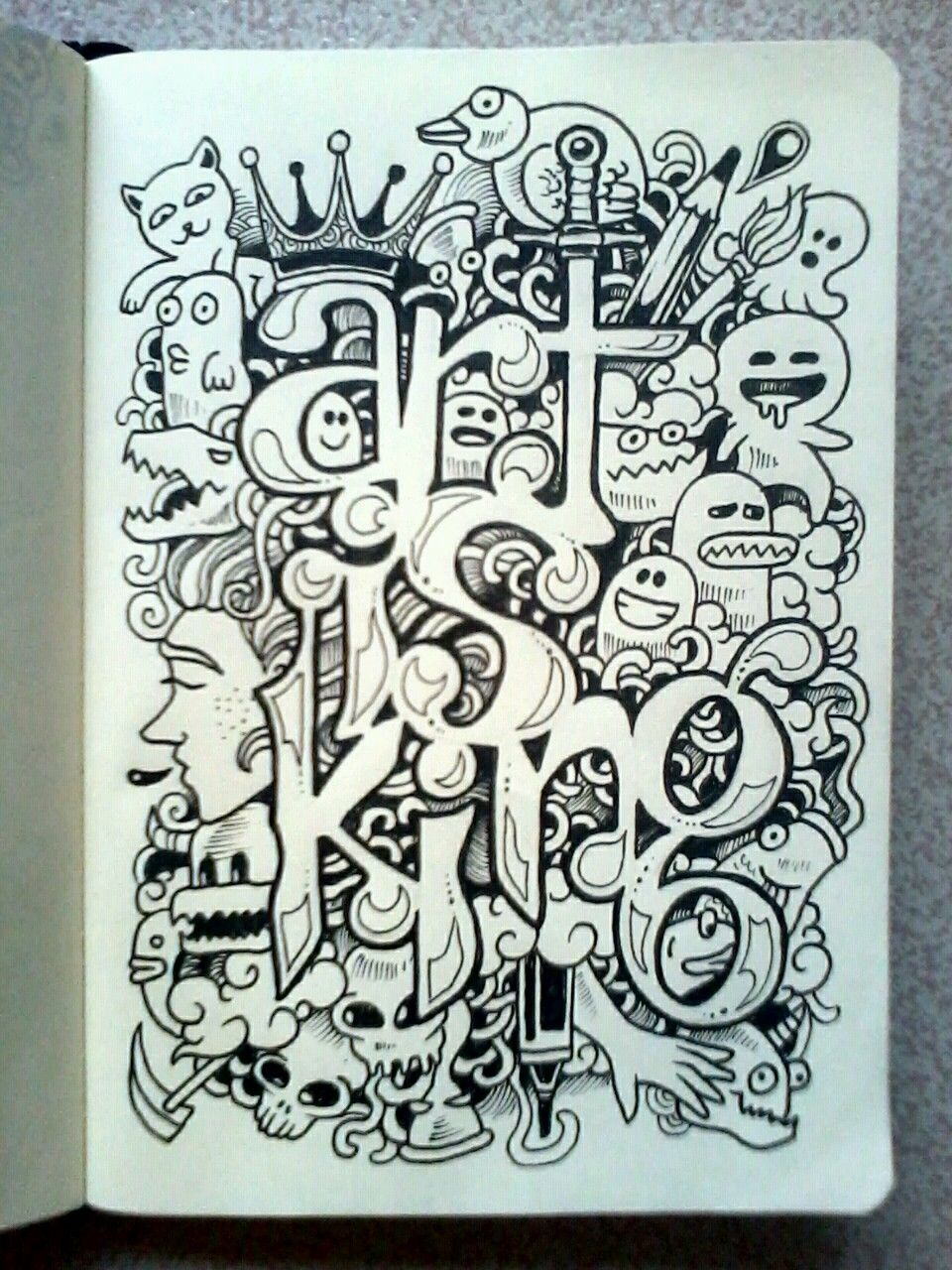 Sketchy Stories - Doodle Art of Kerby Rosanes : Photo | Artist Kerby ...