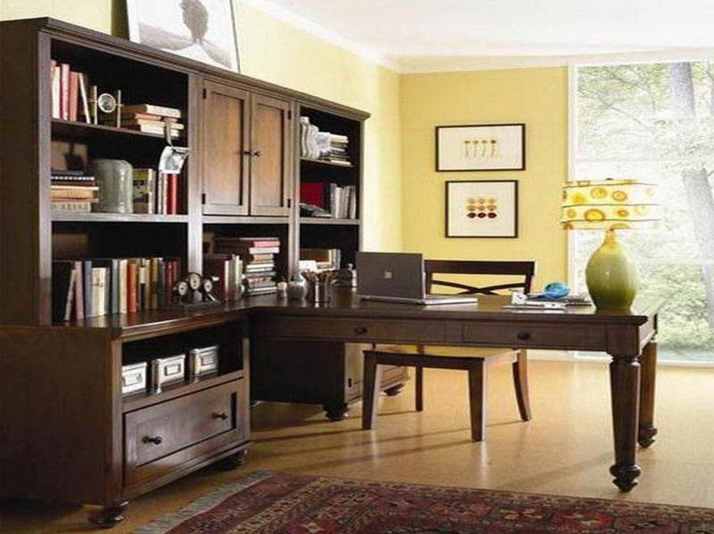 Modern Home Office For Two clean two sided office desk with two person desk uk | office