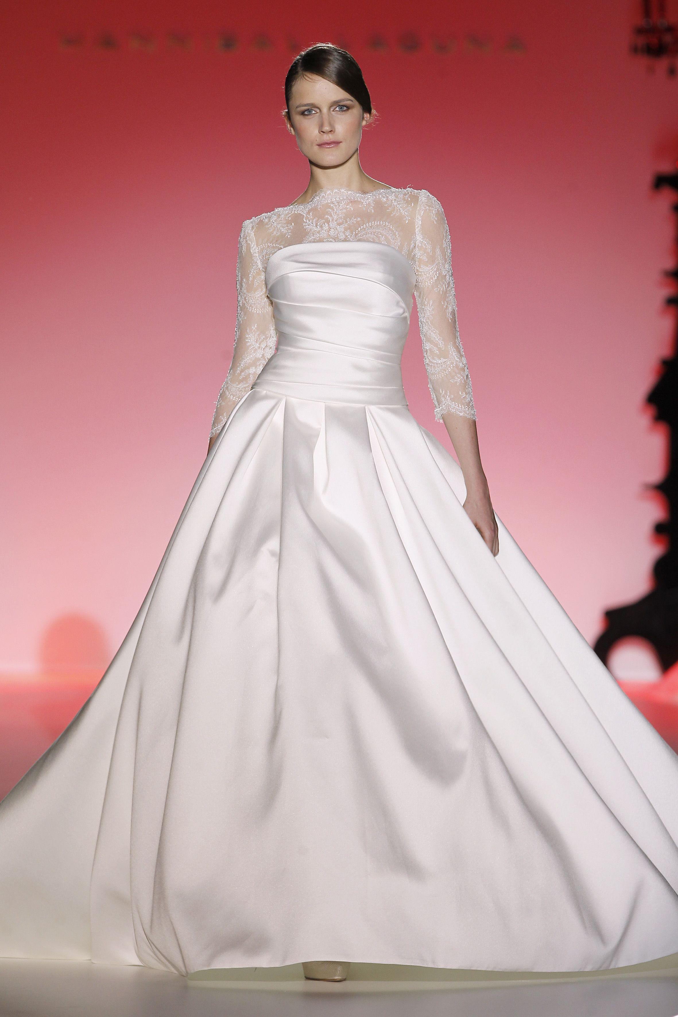 Barcelona bridal week. Diseño: Hannibal Laguna | Barcelona bridal ...
