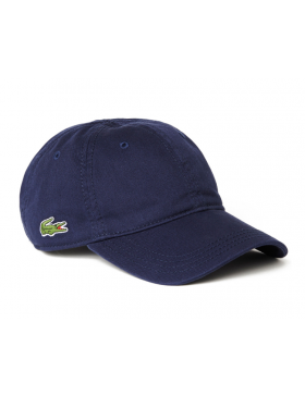 d07b0500 Lacoste pet - Gabardine cap - navy blue | New South/Blue-collar in ...