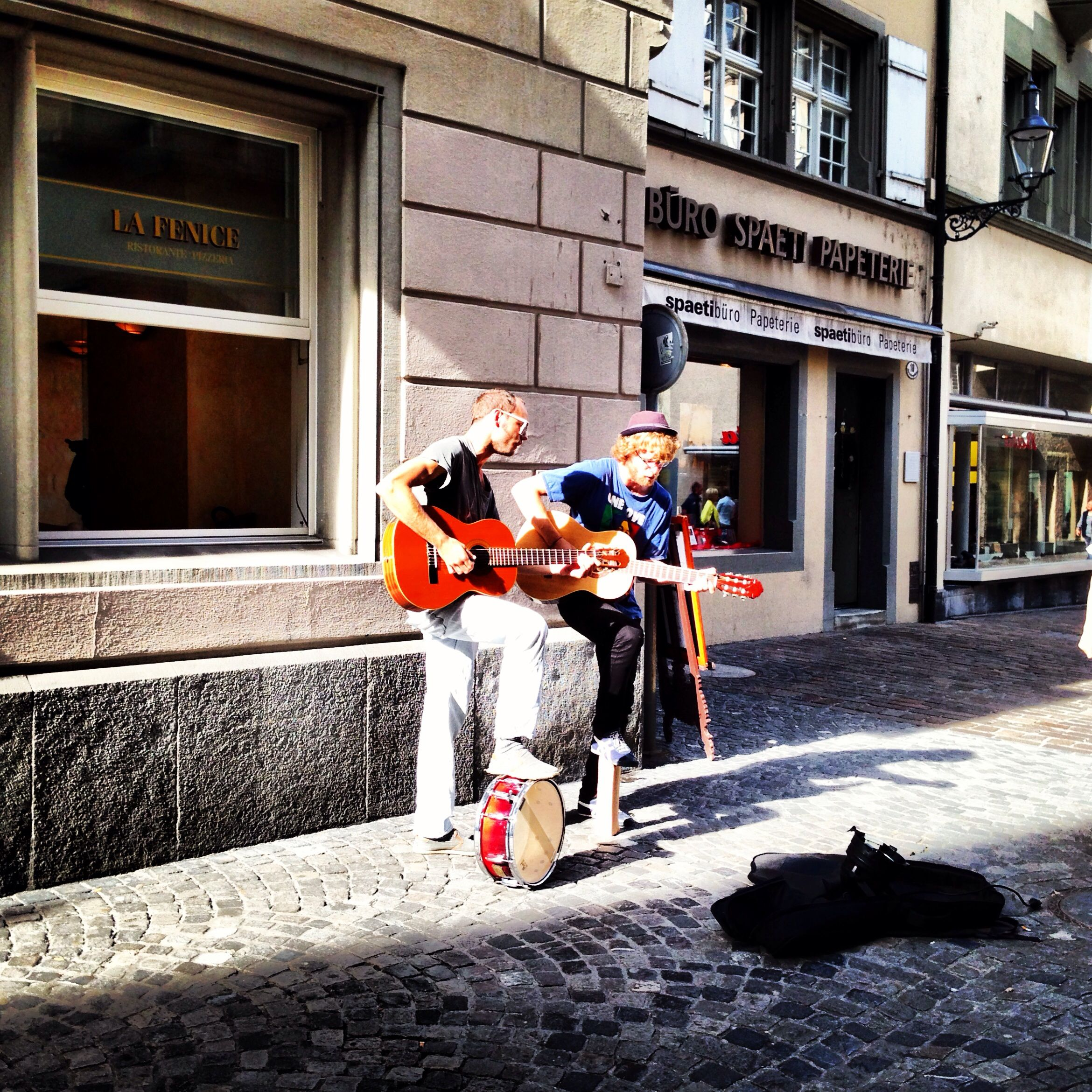 Street Performers in Lucerne