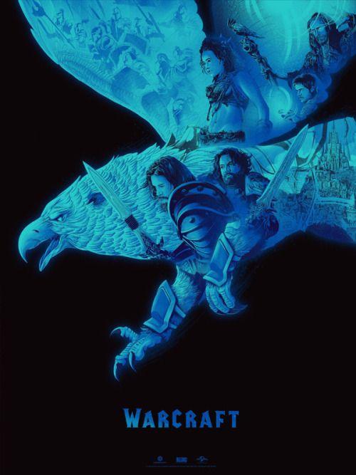 Warcraft Movie Print Kevin Tong Activision Blizzard Warcraft