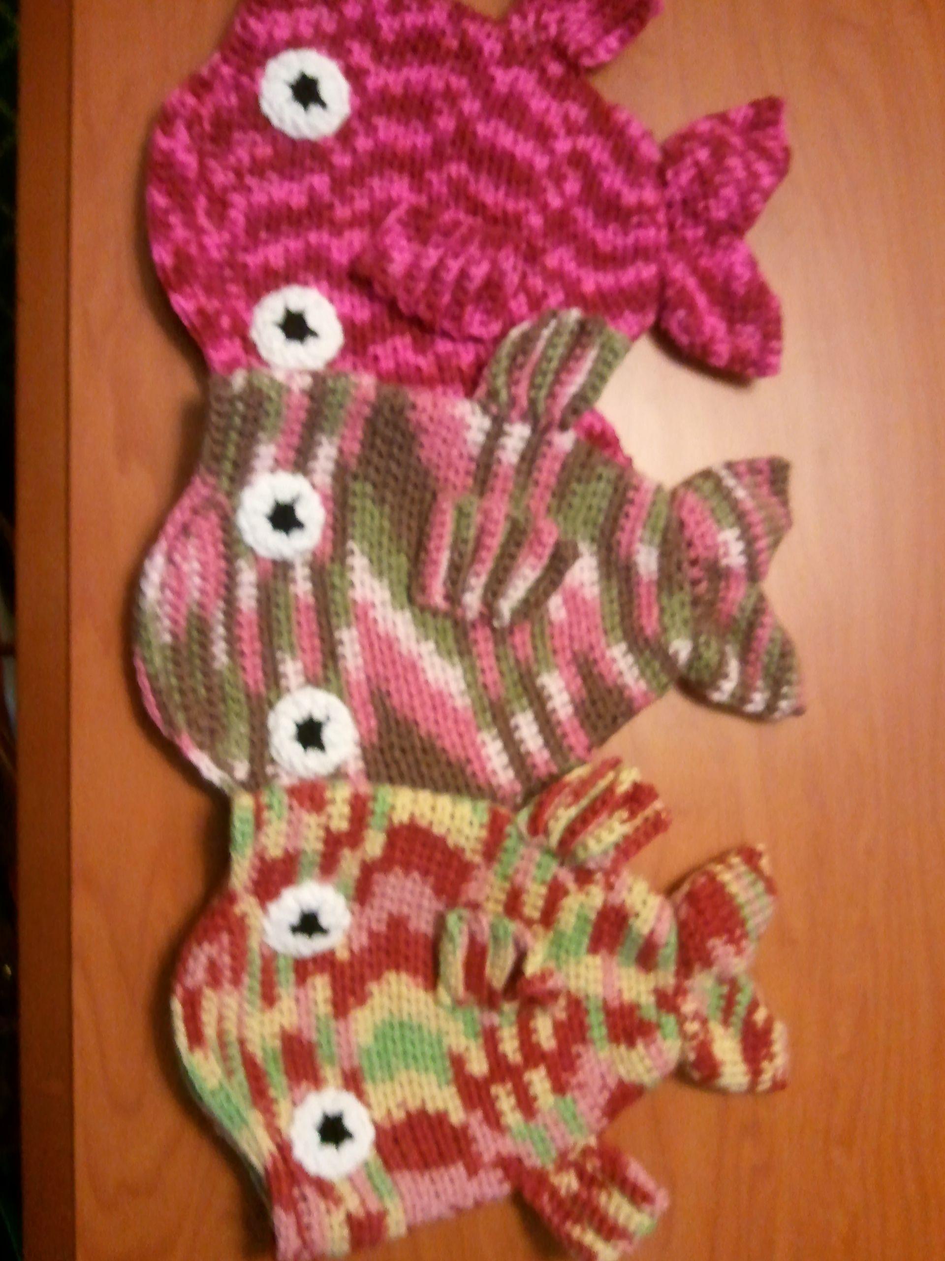 Crochet Fish Hats