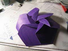 Paper cd case flower design paper folding origami teabag flower cd case mightylinksfo