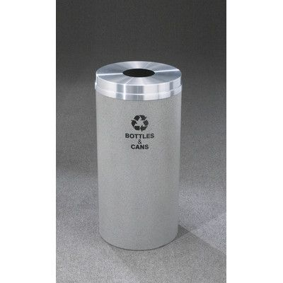 "Glaro, Inc. RecyclePro Single Stream Bottles Industrial Recycling Bin Size: 31"" H x 12"" W"