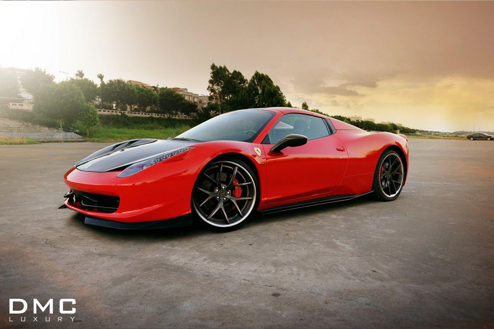 Dmc S New Ferrari 458 Spider Custom Tune Looks Red Hot With