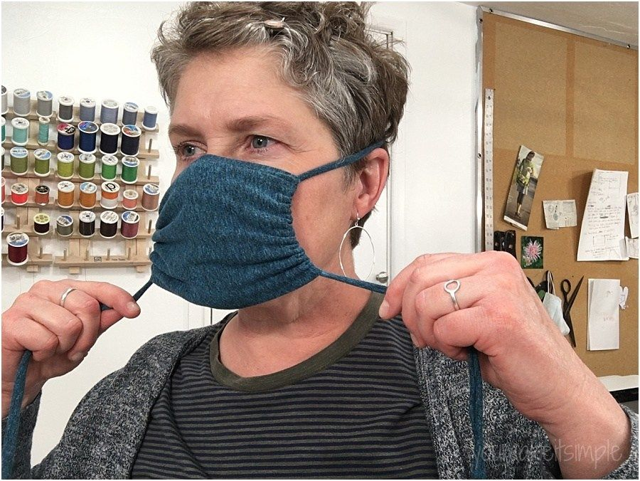 Photo of diy NO SEW Face Mask – Upcycled T Shirt – 5 Minutes