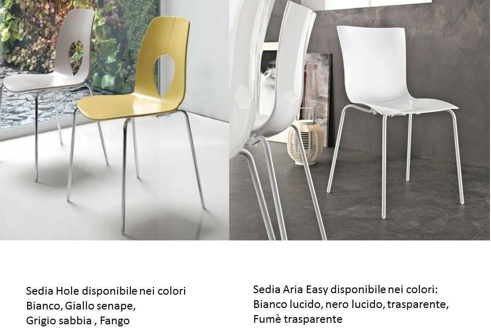 Sedie Fume ~ Sedia luna riflessi con piedi in cromo o rivestiti sedie moderne