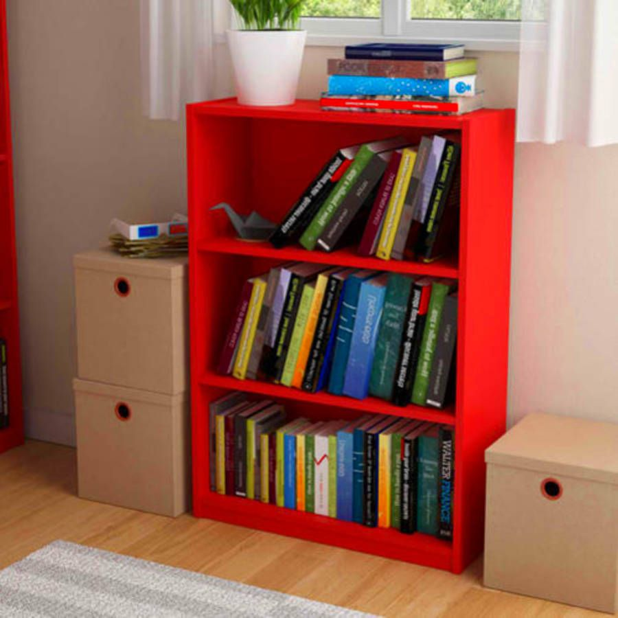 Home elegance furniture shelf bookcases book and toy organizer