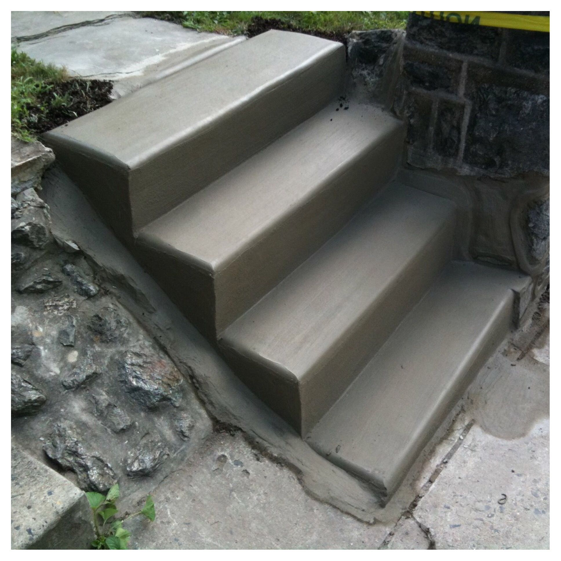 square steps in philadelphia concrete steps concrete work cement work concrete construction concrete work contractor cement steps steps