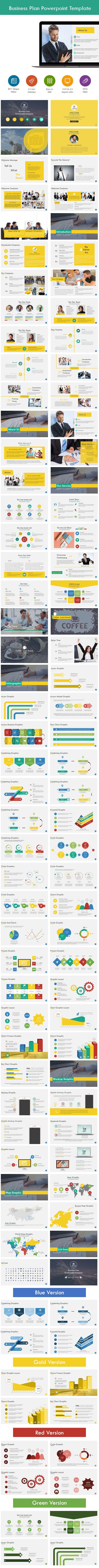 business plan powerpoint presentation template slides download