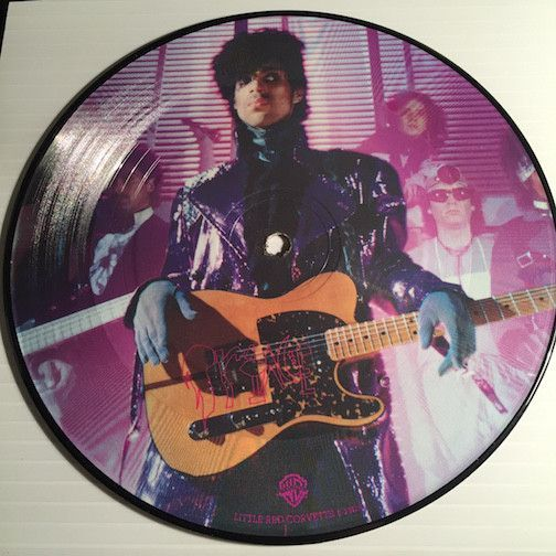 Prince Little Red Corvette B W 1999 Wb 20129 Colored Vinyl 80 S Prince Little Red Corvette Little Red Corvette The Artist Prince