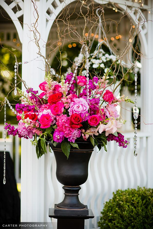 Black and white and hot pink wedding flowers erin volante floral black and white and hot pink wedding flowers erin volante floral mightylinksfo
