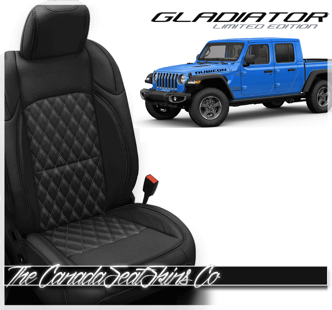 This Is Our New 2020 Jeep Gladiator Leather Interior Design In