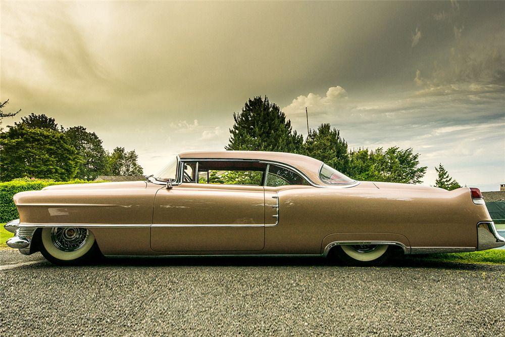 1955 CADILLAC COUPE DE VILLE CUSTOM –  – Barrett-Jackson Auction Company – World's Greatest Collector Car Auctions