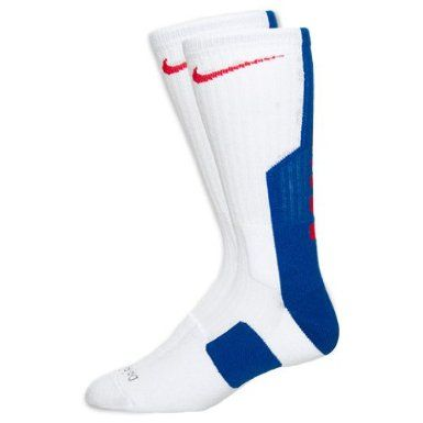 justa hierba ciervo  Amazon.com: NIKE Elite 2.0 Men's Basketball Crew Socks, White/Game  Royal/Red: Clothing | 靴下