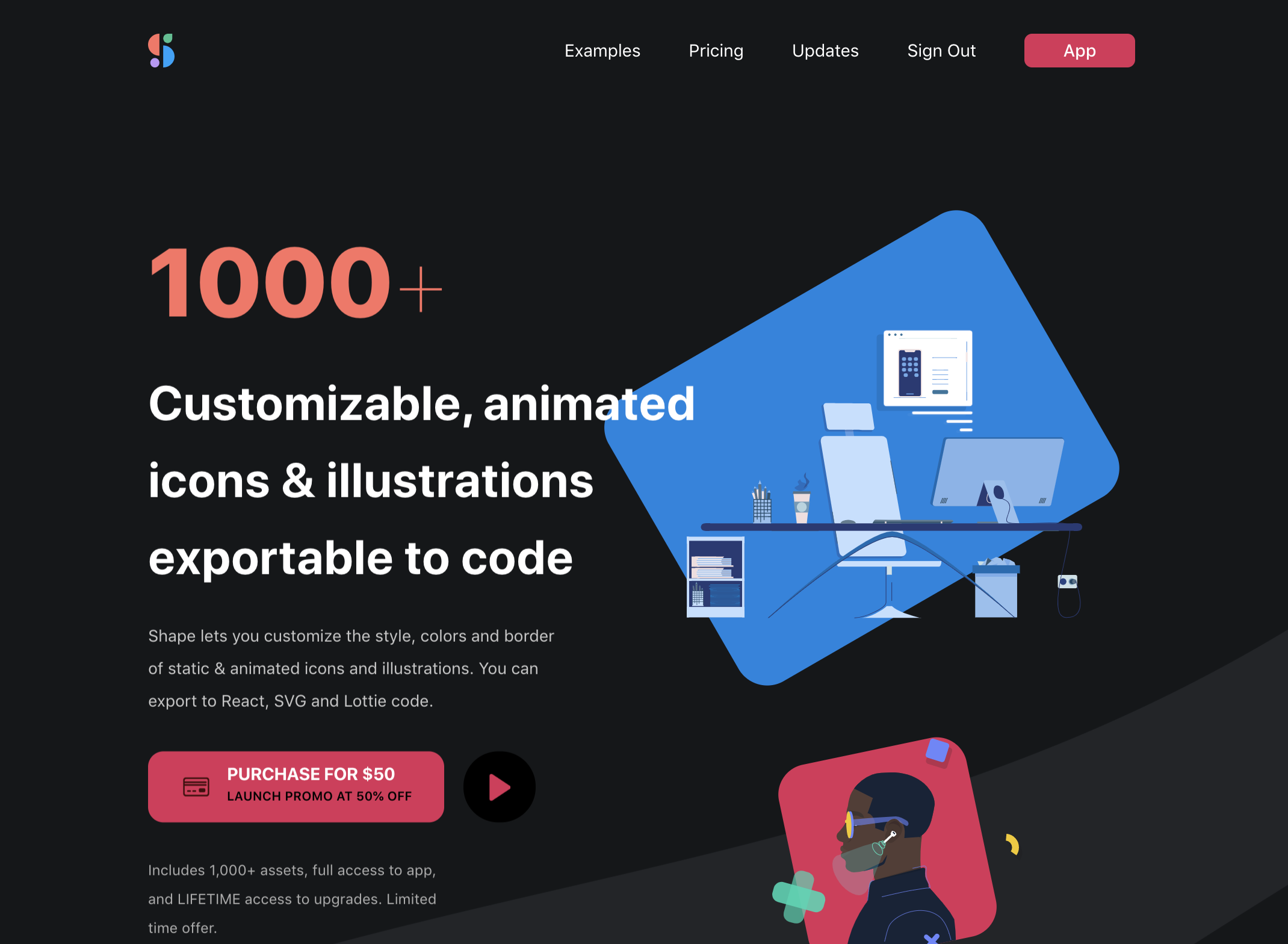 1000+ Customizable, Animated Icons & Illustrations. You