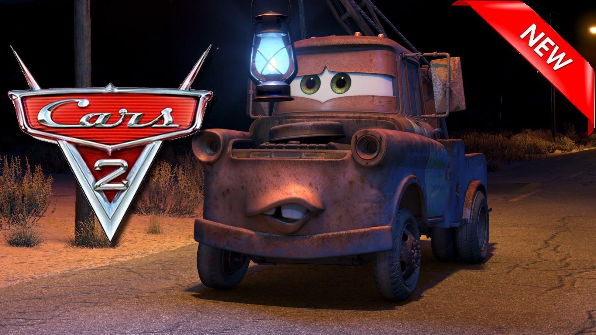 Cars 2 game mater lightning mcqueen montain tour battle racing