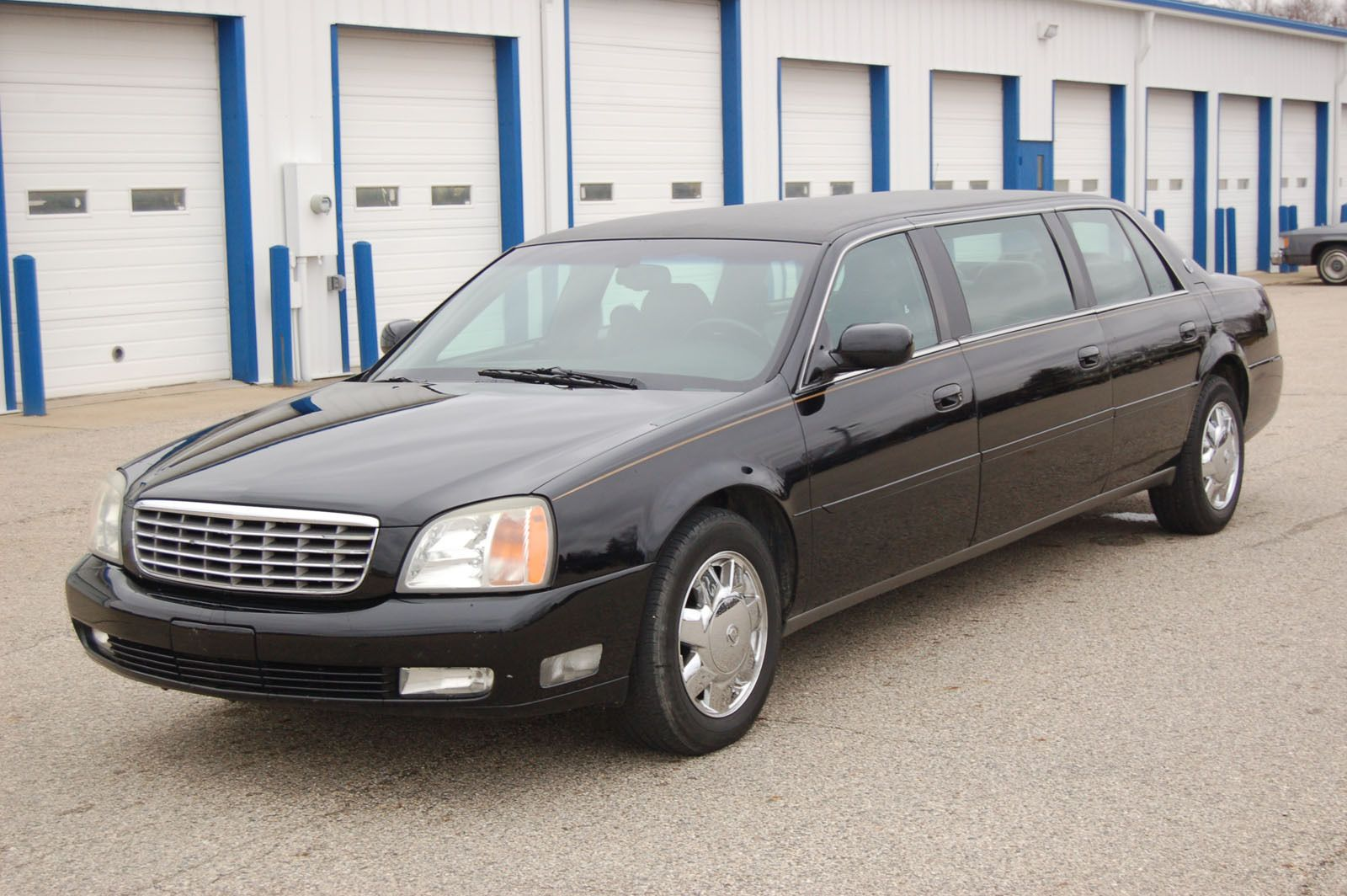 2002 cadillac deville limousine six door limousine by sayers and scovill