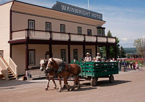 Heritage Park in Calgary's Chinook Park neighborhood transfers you back to the 19th century! This is Canada's largest living #museum and a great attraction in the city!