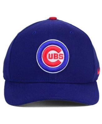 timeless design 517bc aee58 Nike Chicago Cubs Classic SwooshFlex Cap   Reviews - Sports Fan Shop By  Lids - Men