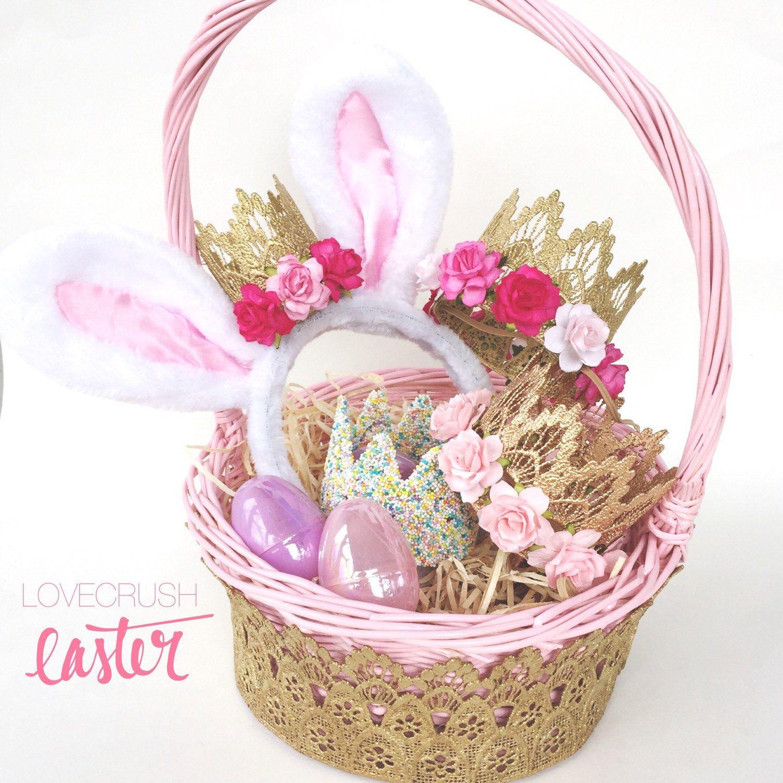 E a s t e r baskets are live✨ #lovecrushlace + wicker baskets || 2 ...
