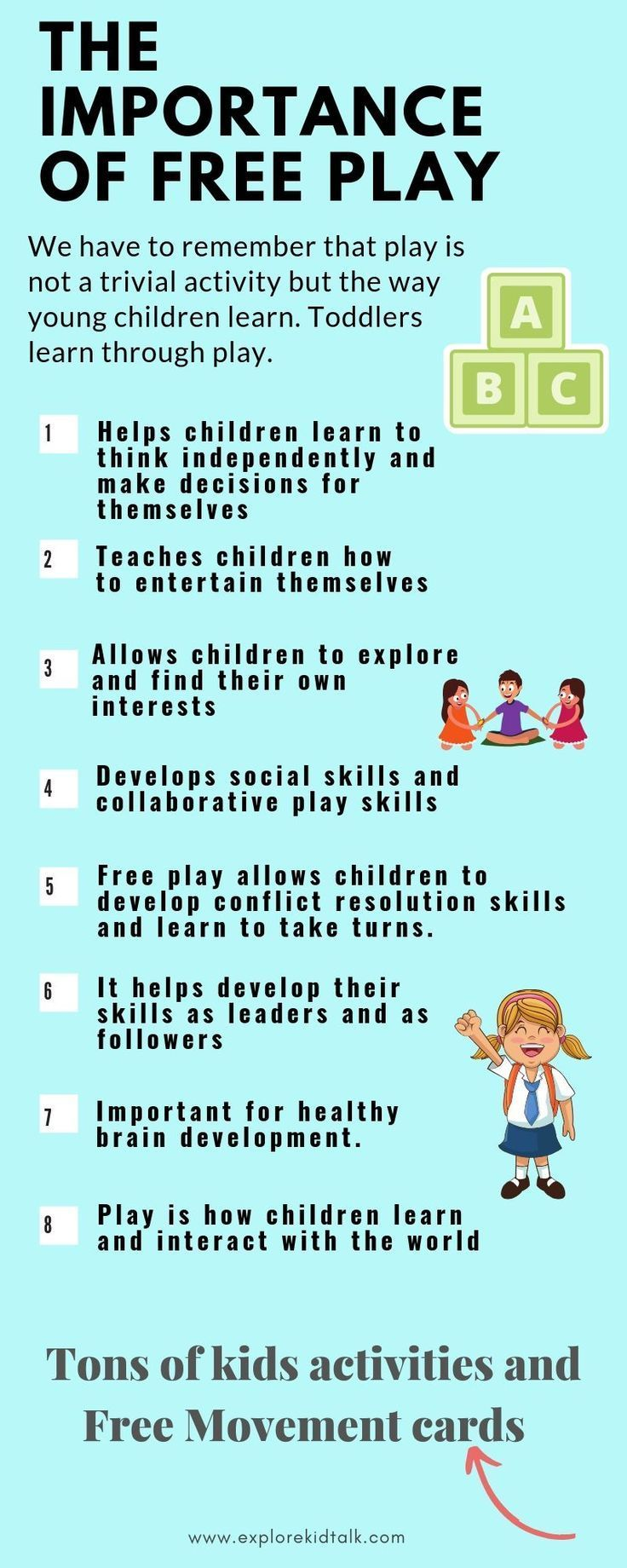 The Importance of play in Early Childhood (and why kids need more of it) - Explore Kid Talk