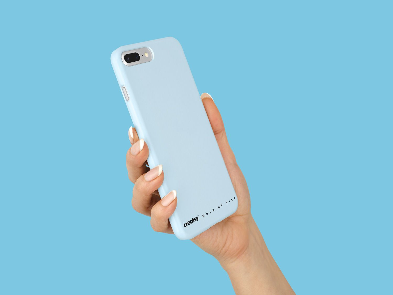 Download Iphone 8 Plastic Case Mockup Free Mockup Iphone Transparent Case Iphone Plastic Case
