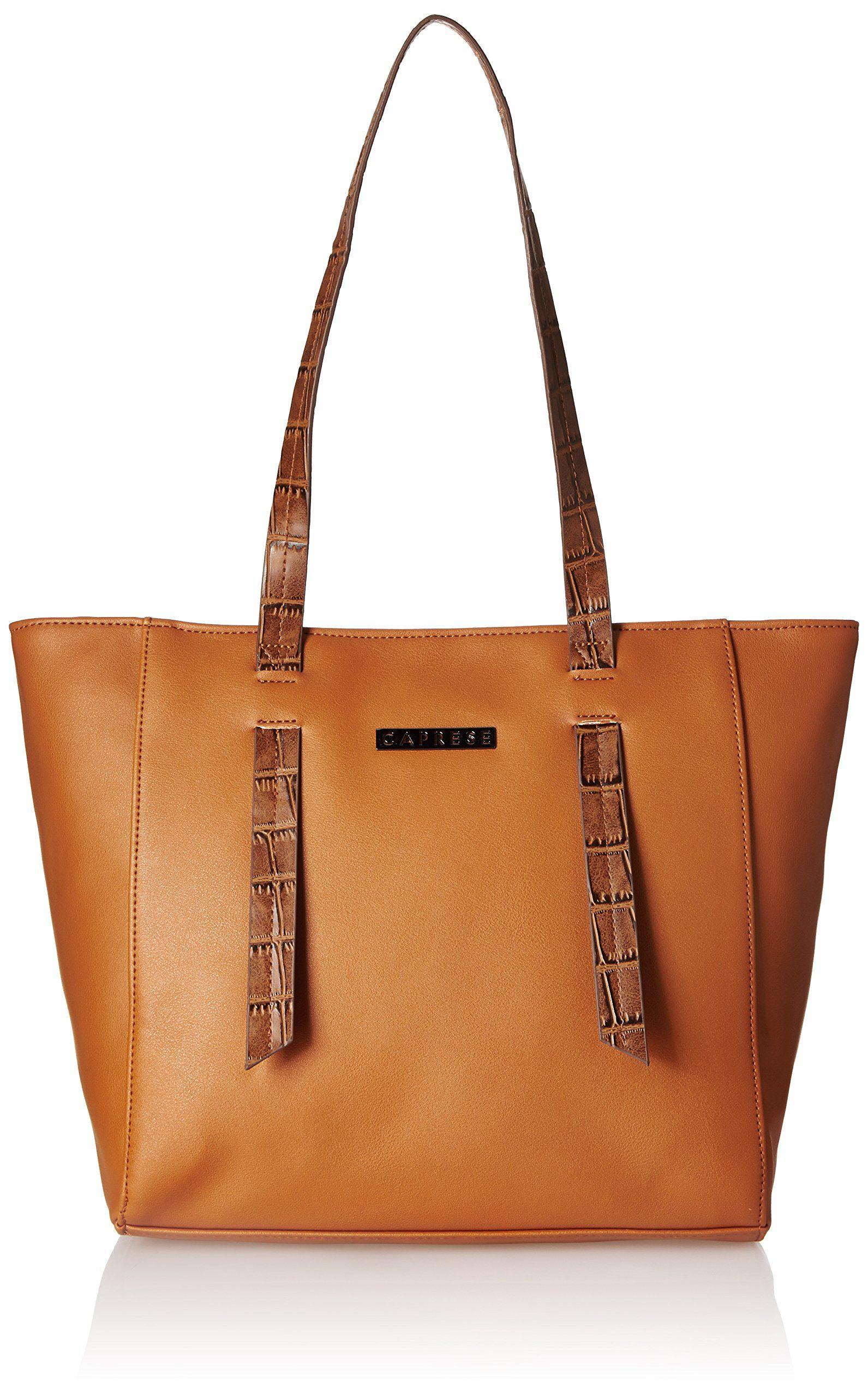 3b6f319a7c53 Caprese Evana Women s Tote Bag (Tan) -