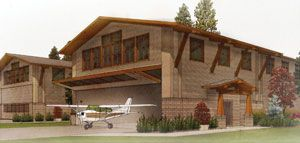 Models And Floor Plans : Residential Airpark : Hangar Homes