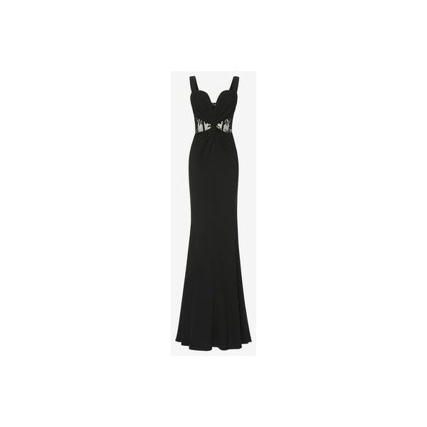 Twist Detail Bustier Evening Dress (15.445 BRL) ❤ liked on ...