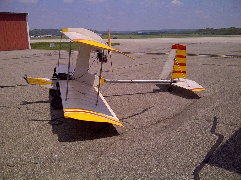 Styrofoam Craft Paper 15hp Ultralight Plane Ultralight Airplane