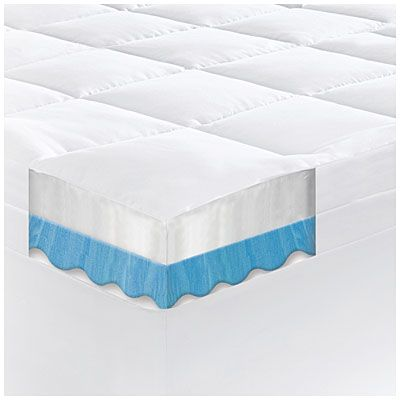 Serta Rest 4 Queen Gel Memory Foam Mattress Topper At Big Lots