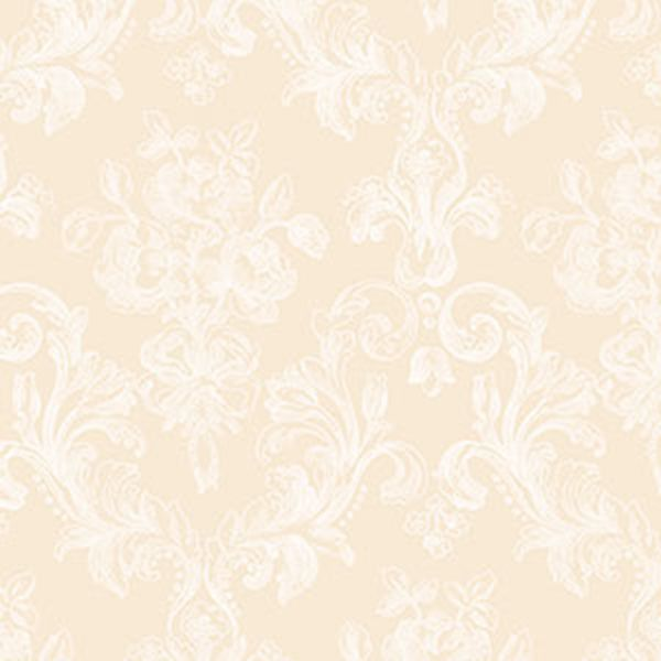Norwall Gc29826 Grand Chateau Floral Wallpaper Beige Cream