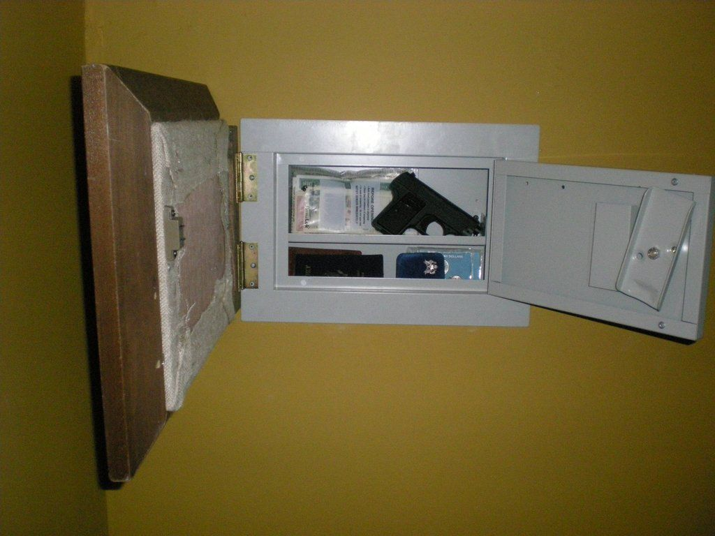 Secret wall safe with pistol storage secret and secure spaces secret wall safe with pistol storage amipublicfo Image collections